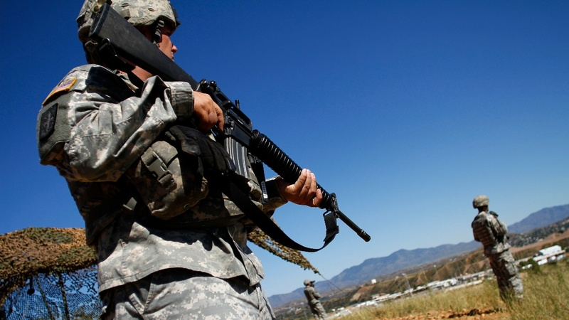 Trump sending troops to U.S.-Mexico border