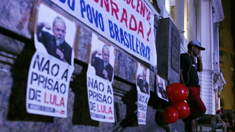 Brazilians divided as Lula could head to prison
