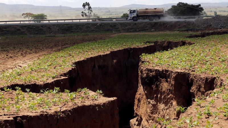 INSIGHT: Fault line slices through Kenya's Rift Valley