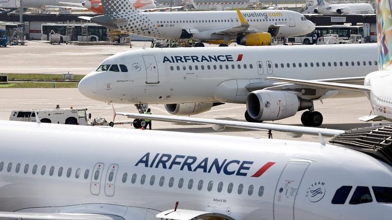 Air France strike disrupts holiday travels