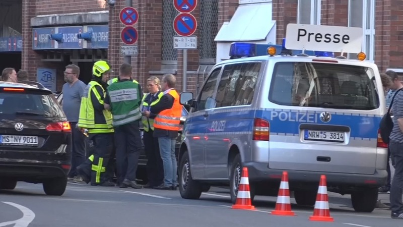 Several killed after a van hits crowd in Germany