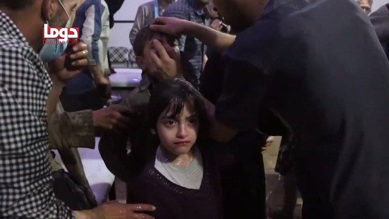 Dozens killed in alleged Syrian chemical attack
