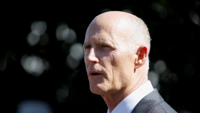Florida governor Scott launches Senate run