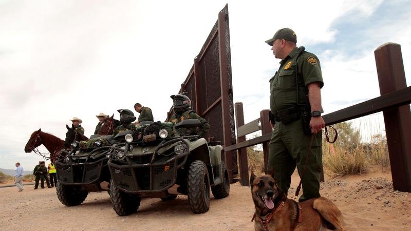 New Mexico begins U.S. border wall upgrade