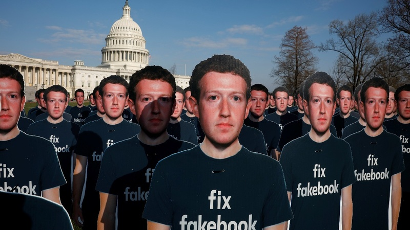 Zuckerberg poked and prodded on Capitol Hill