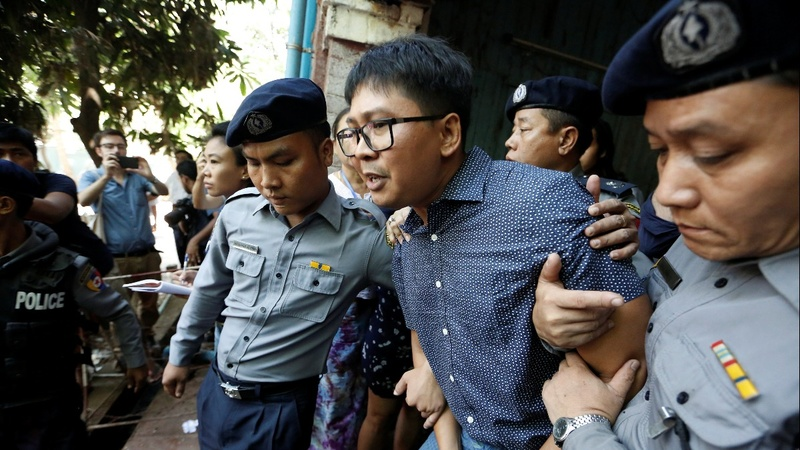 Myanmar judge refuses to drop case against reporters