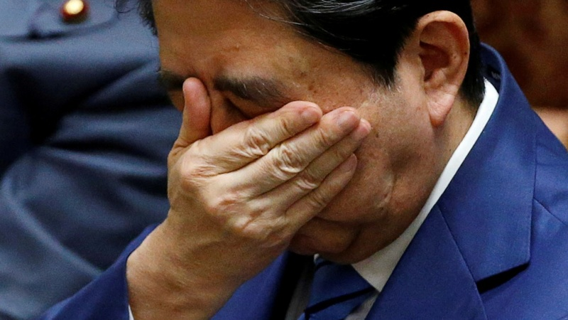 Japan's Abe sticks to denials as scandal doubts swirl