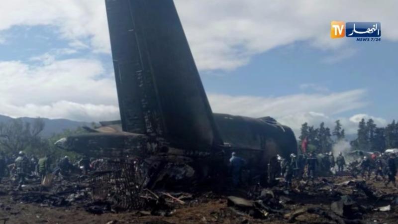 More than 250 dead in Algeria plane crash