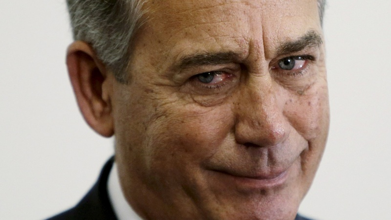 Boehner gets into the weed business