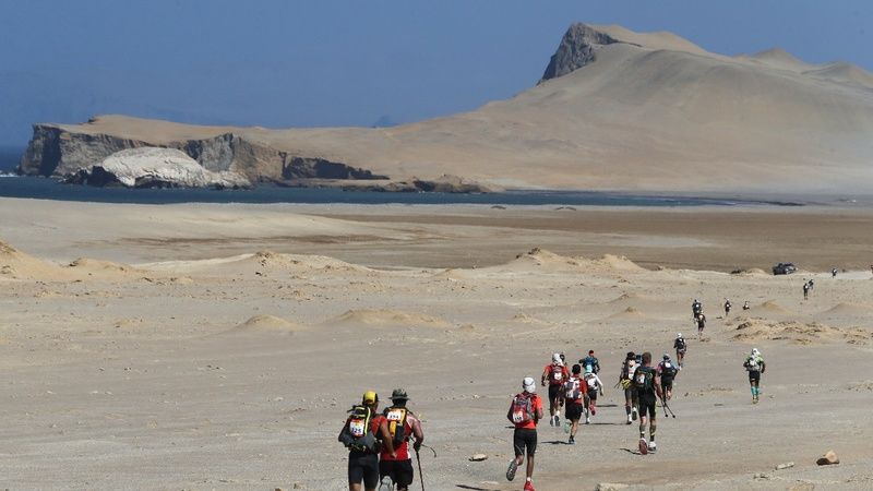 INSIGHT: Runners brave the Sahara ultramarathon