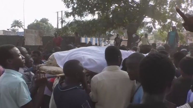 Corpses laid at UN's door in Central African Republic