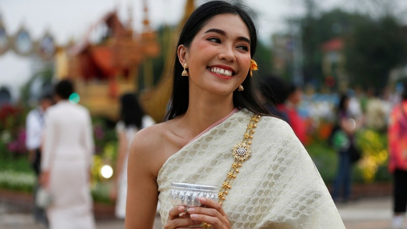 Traditional costume fever grips Thailand