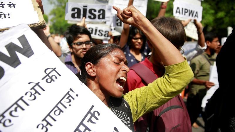 Child rape cases roil Indian politics