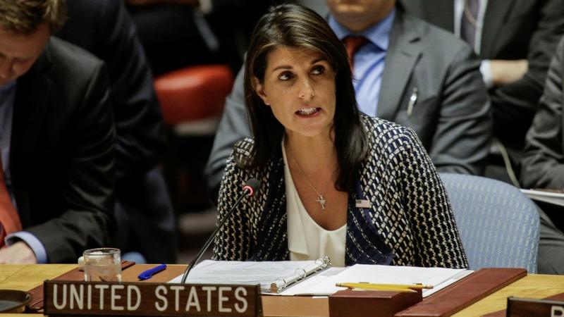 VERBATIM: Nikki Haley says Syria used chemical weapons 50 times