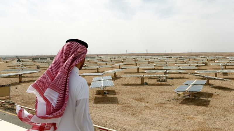 After oil, solar? Saudi Arabia plans ahead