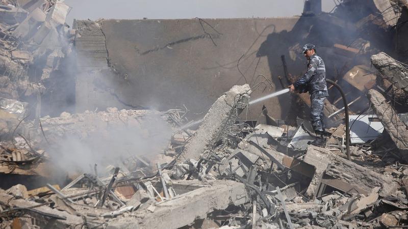 Strikes 'crippled' Syria's chemical weapons program: Pentagon