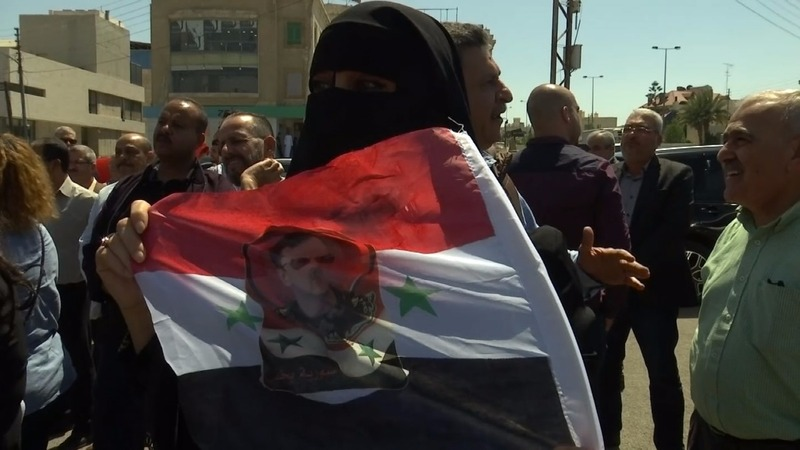 Anger and indifference to strikes in Middle East