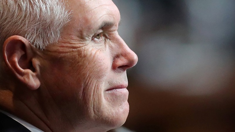 More chemical attacks will not be tolerated: Pence