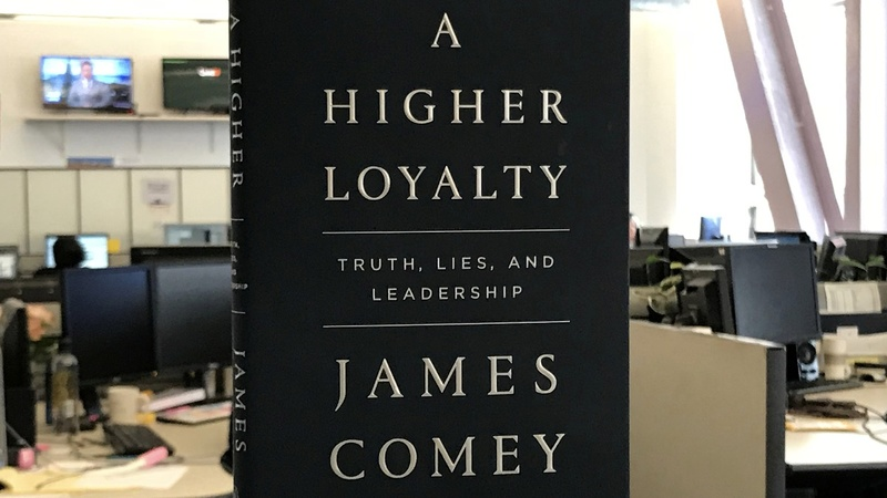 Trump bashes Comey ahead of book release