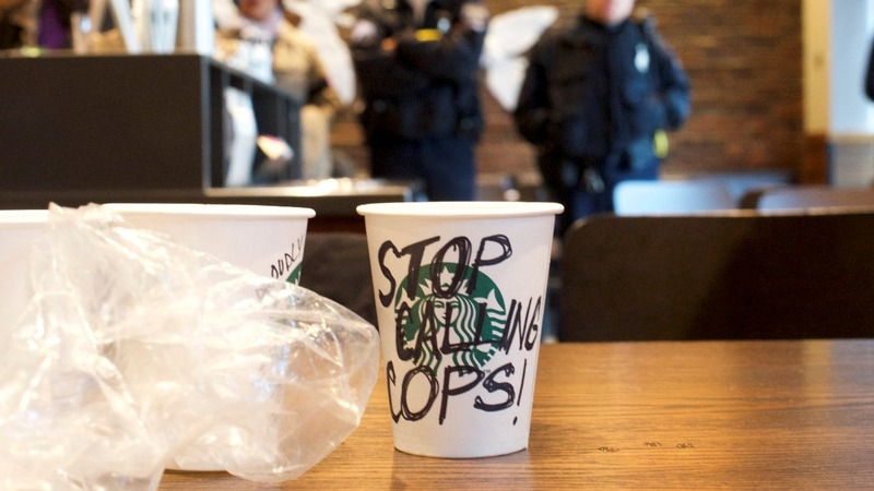 Starbucks CEO calls arrests of two black men 'reprehensible'