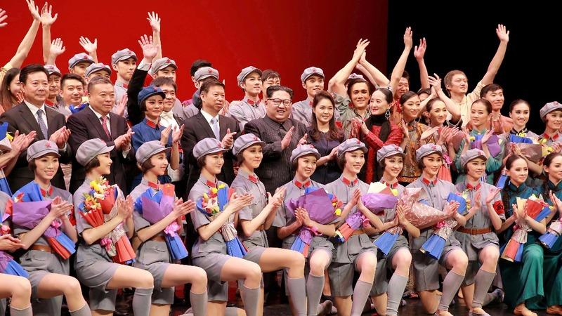 Ballerinas over ballistic missiles for Kim Jong Un