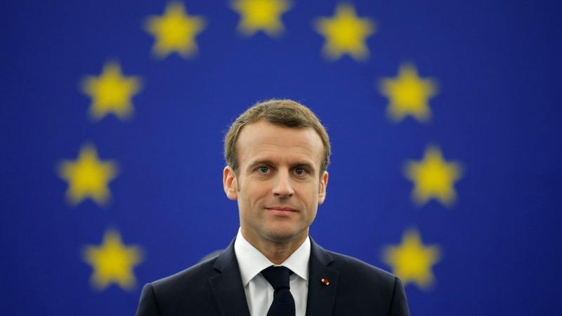 Macron pitches EU reform to European Parliament