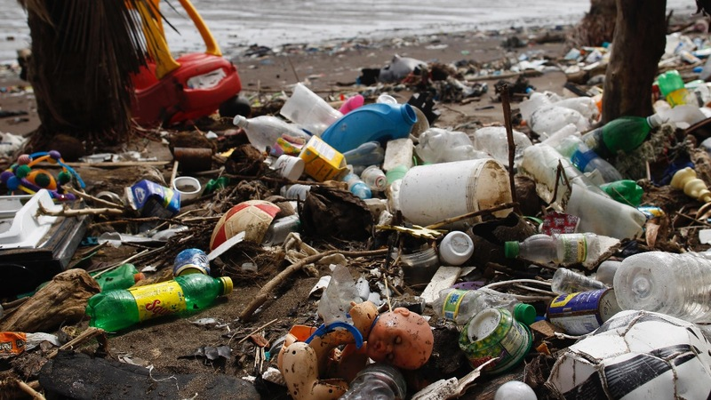 Plastic-eating enzyme holds promise in pollution fight