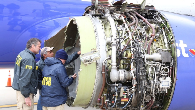 High praise and deep concern after Southwest jet explosion