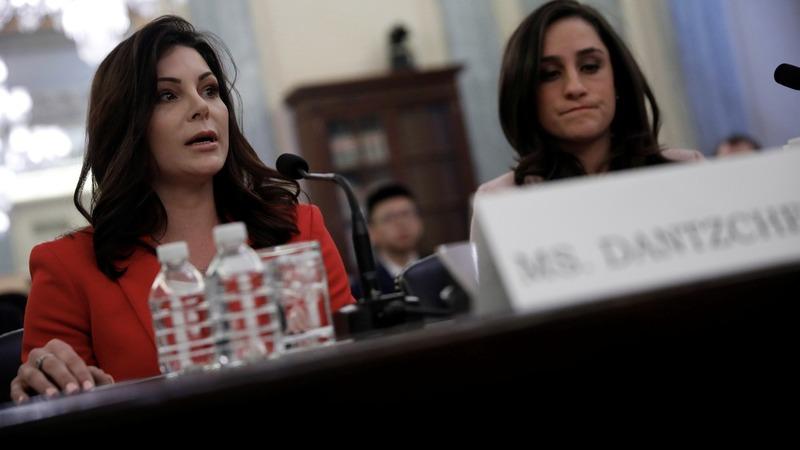 U.S. Olympic abuse victims testify before senate