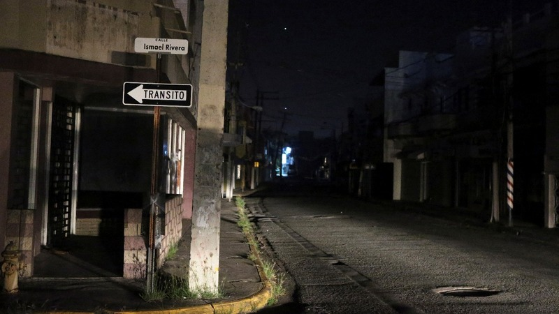 Island-wide power blackout hits Puerto Rico