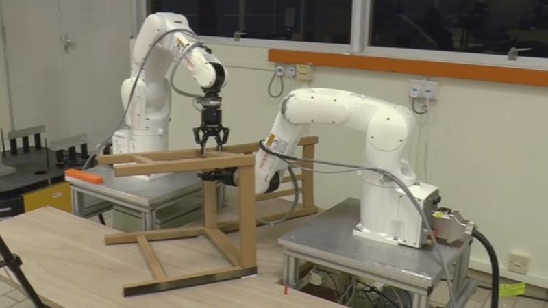 INSIGHT: Robot assembles IKEA chair