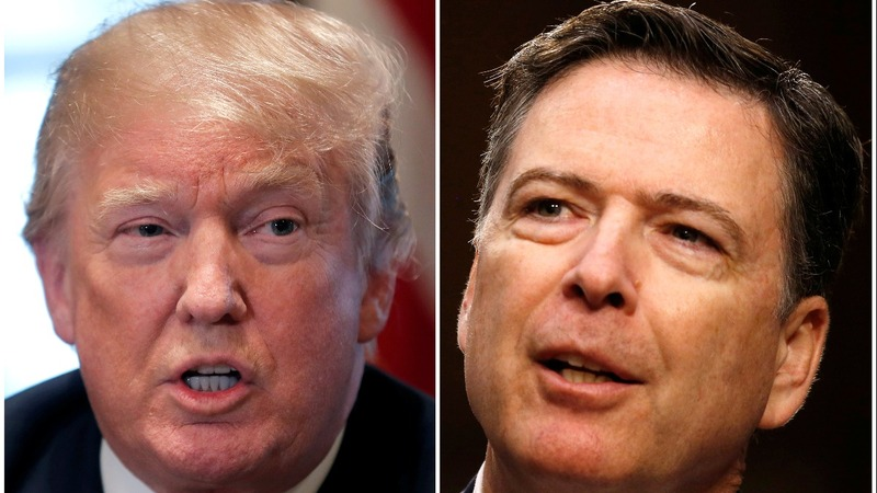 Comey memos say Trump fretted over loyalty and leaks