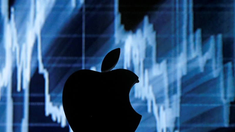 iPhone jitters sour Apple stock, again