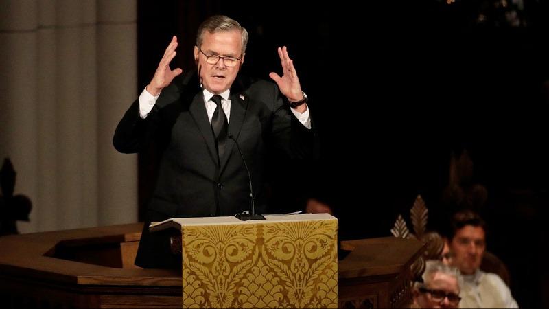 VERBATIM: Jeb Bush remembers 'mom' Barbara