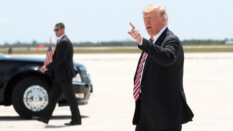 Trump calls Comey a 'liar and leaker'