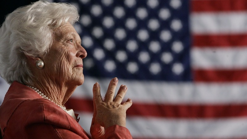Barbara Bush laid to rest