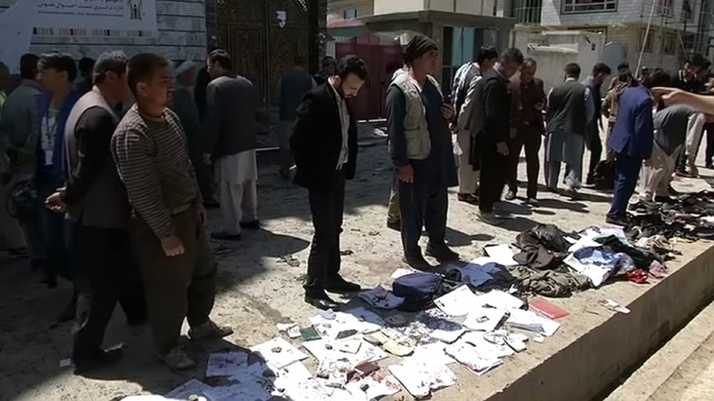 Deadly suicide blast kills at least 48 in Kabul