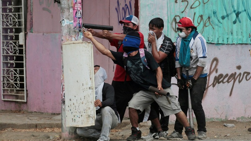 Violent political protests rack Nicaragua for fifth day