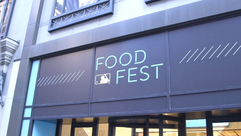 A food festival celebrates MLB ballpark cuisine