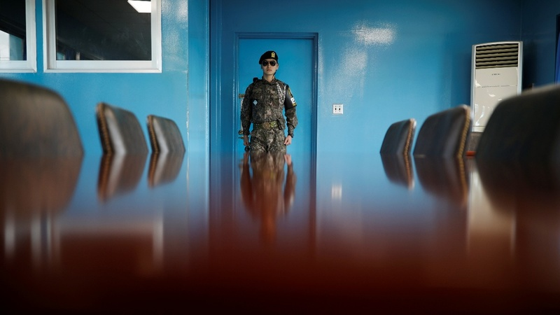 South Korea halts DMZ propaganda broadcasts