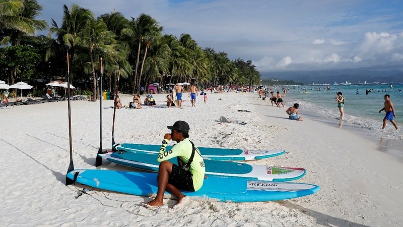 Philippines' Boracay frets over impact of clean-up closure