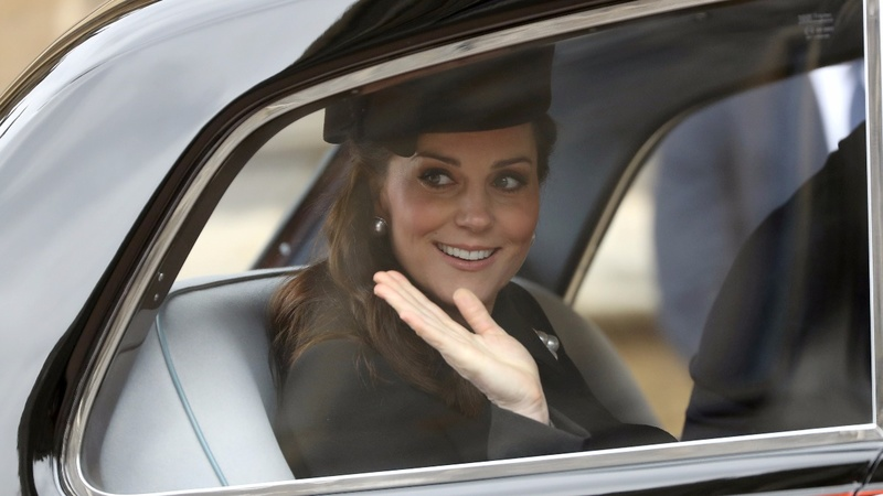 Duchess of Cambridge in labor with third royal baby