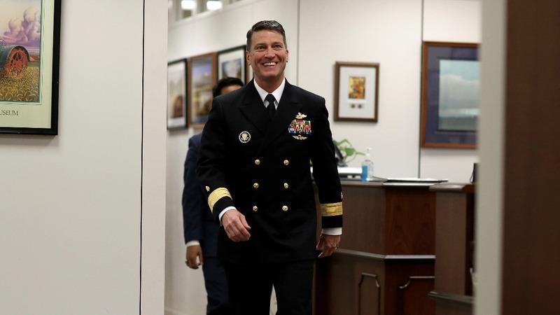 White House defends vetting of Ronny Jackson