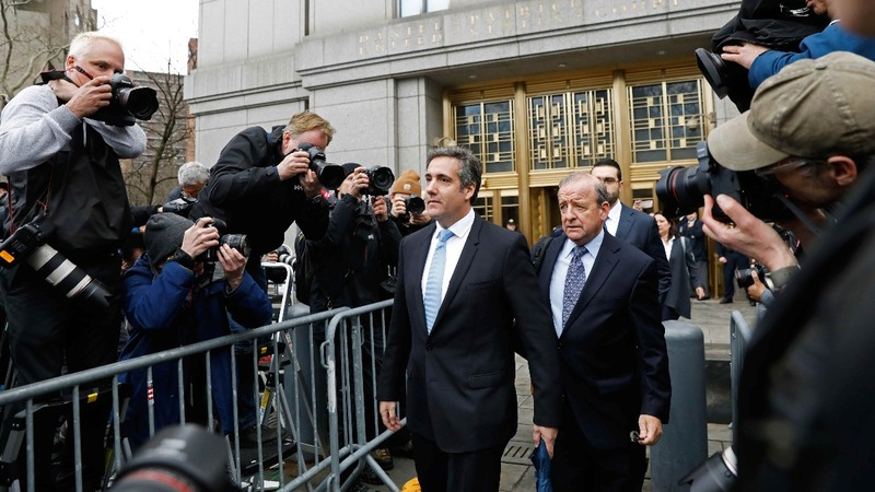Cohen pleads the fifth in Stormy Daniels' lawsuit