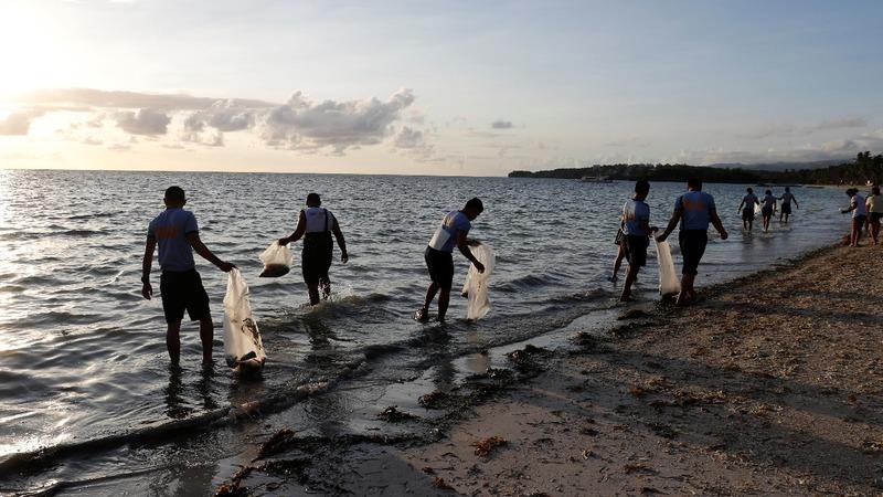 Boracay island kick-starts its six-month makeover