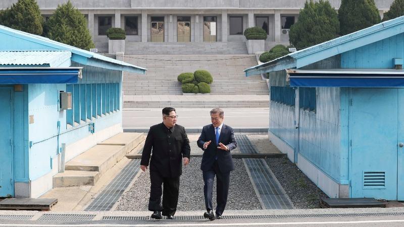 'A new history starts now': Korean leaders begin summit