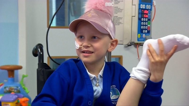 Girl's leg is reattached backwards after cancer surgery