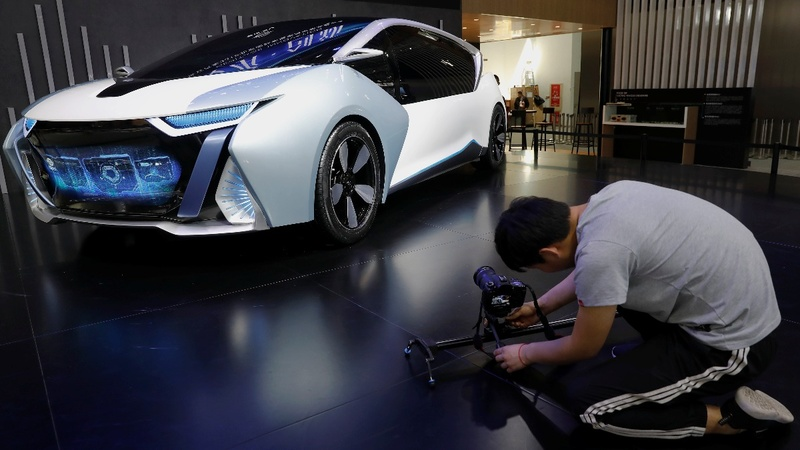 The race for electric vehicles at Beijing's Auto Show