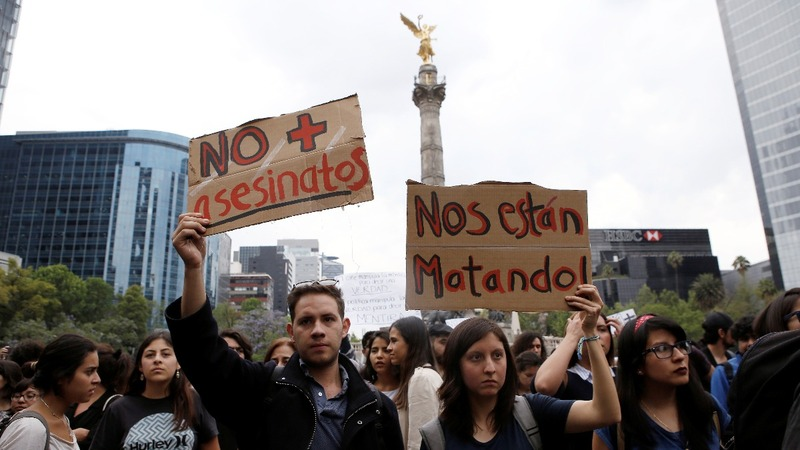 Protests shake Mexico after officials say missing students killed