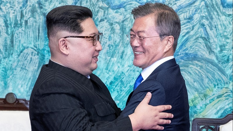Two Koreas seek peace after historic summit